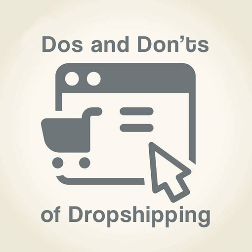 Do and donts dropshipping