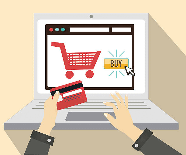 online shopping cart one click