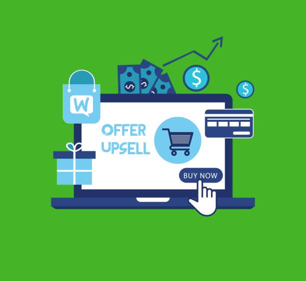 One click upsells sales boost
